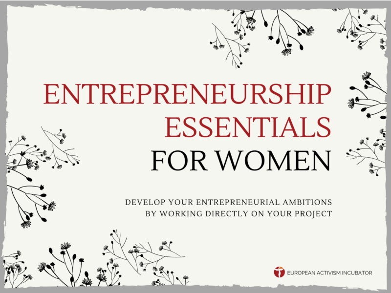 Entrepreneurship Essentials for Women