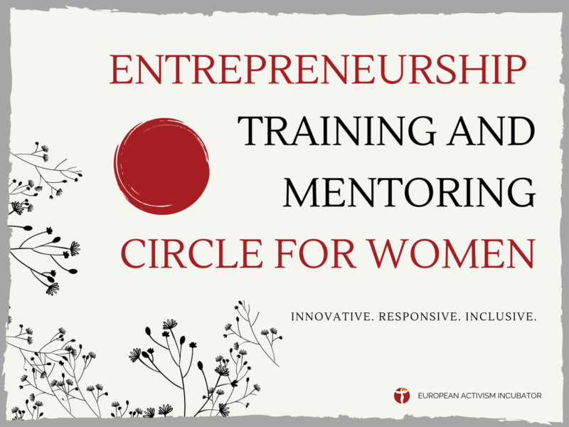 Entrepreneurship Training and Mentoring Circle For Women