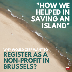 Register as a non-profit in Brussels