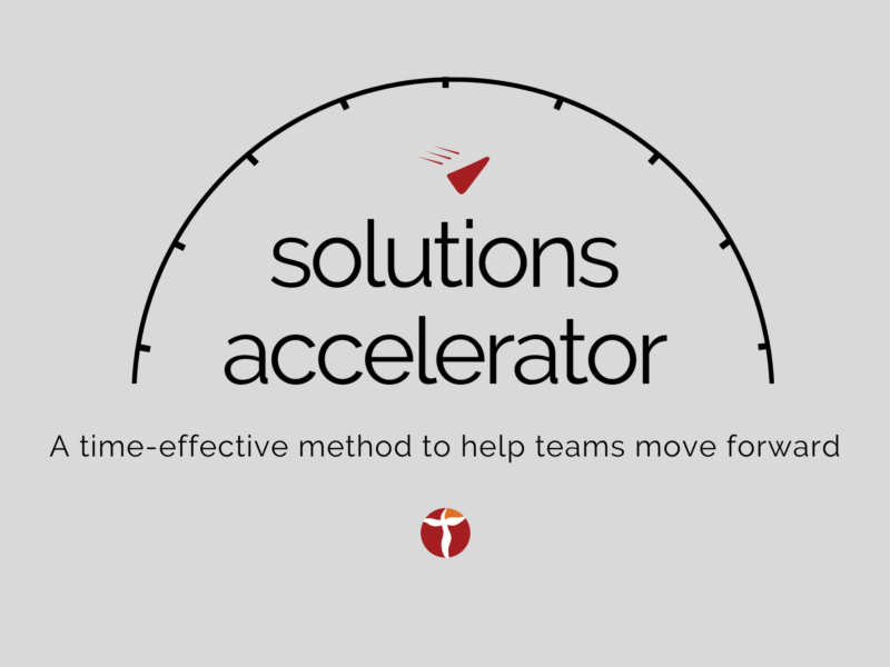 Help teams move forward