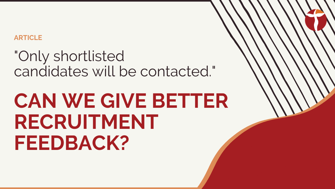 better recruitment feedback