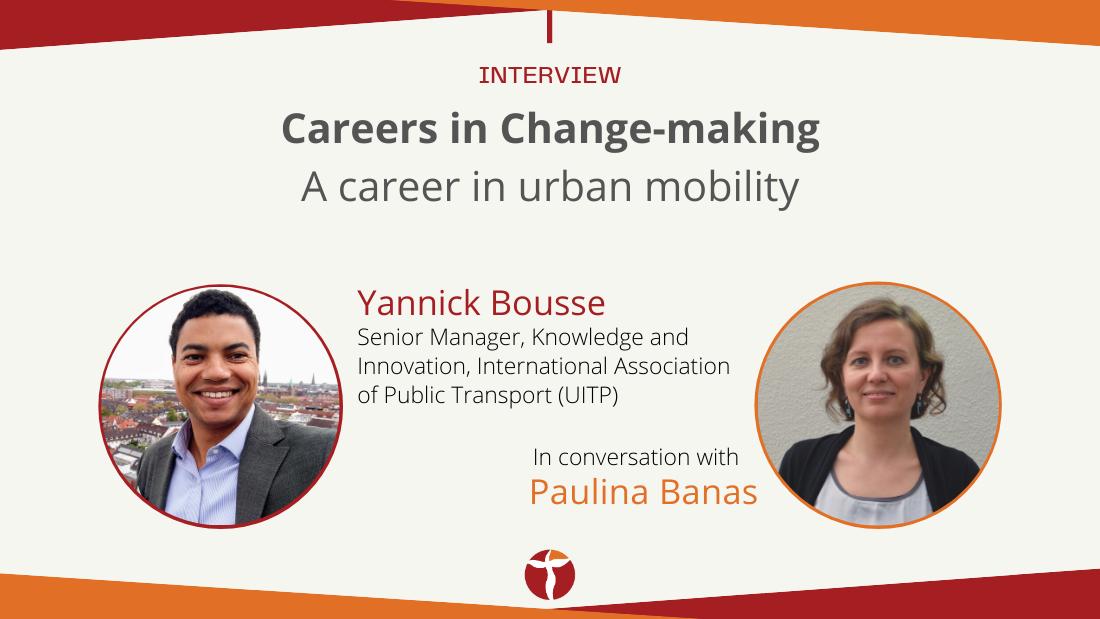 Yannick Bousse urban mobility career